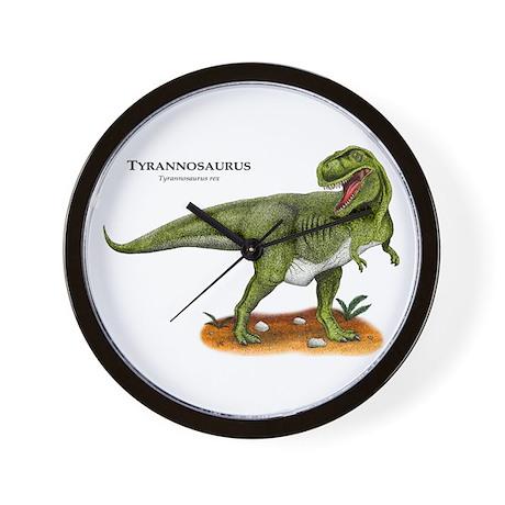 Tyrannosaurus Wall Clock