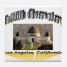 Griffith Observatory Tile Coaster
