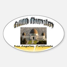 Griffith Observatory Sticker (Oval)