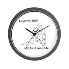 Veterinary Technician Design Wall Clock