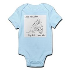 Veterinary Technician Design Infant Bodysuit