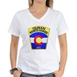 Colorado Mounted Rangers Women's V-Neck T-Shirt
