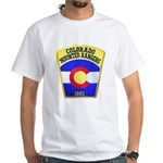Colorado Mounted Rangers White T-Shirt