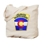 Colorado Mounted Rangers Tote Bag
