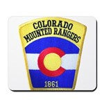 Colorado Mounted Rangers Mousepad