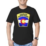 Colorado Mounted Rangers Men's Fitted T-Shirt (dar