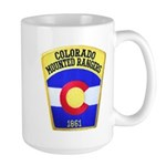 Colorado Mounted Rangers Large Mug