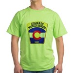 Colorado Mounted Rangers Green T-Shirt