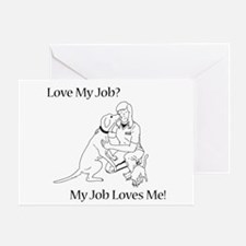 Veterinary Technician Design Greeting Card