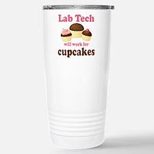 Lab Tech Cupcake Travel Mug