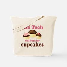 Lab Tech Cupcake Tote Bag