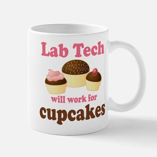 Lab Tech Cupcake Mug