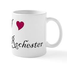 I Heart Mr. Rochester Small Mug