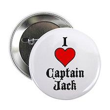 """I Heart Captain Jack 2.25"""" Button"""