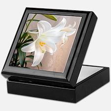 Easter Lily Keepsake Box