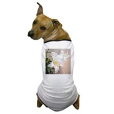Easter Lily Dog T-Shirt
