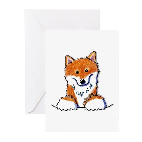 Pocket Shiba Inu Greeting Cards (Pk of 10)