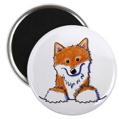 """Pocket Shiba Inu 2.25"""" Magnet (10 pack)"""