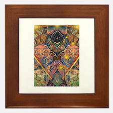 African Mysticism Framed Tile