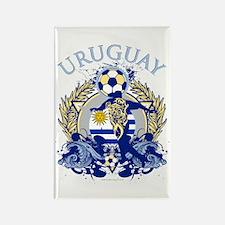 Uruguay Soccer Rectangle Magnet (100 pack)