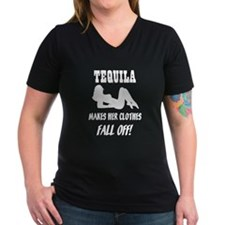 Tequila Makes Her Clothes Fal Shirt