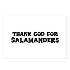 Thank God For Salamanders Postcards (Package of 8)