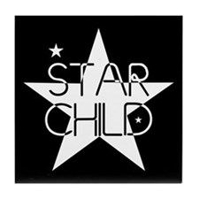 Star Child Tile Coaster