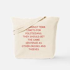 anti congress joke Tote Bag