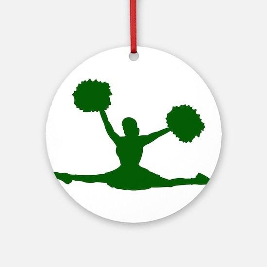 CHEERLEADER *27* Ornament (Round)