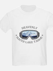 Heavenly Ski Resort - South Lake Tahoe - T-Shirt