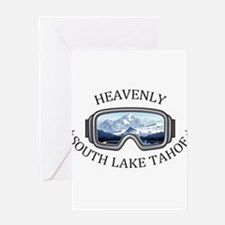 Heavenly Ski Resort - South Lake Greeting Cards