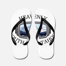 Heavenly Ski Resort - South Lake Taho Flip Flops