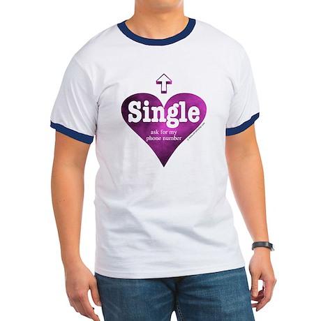 Single (Pink) Ringer T