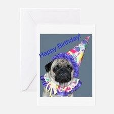 Unique Pug Greeting Cards (Pk of 10)