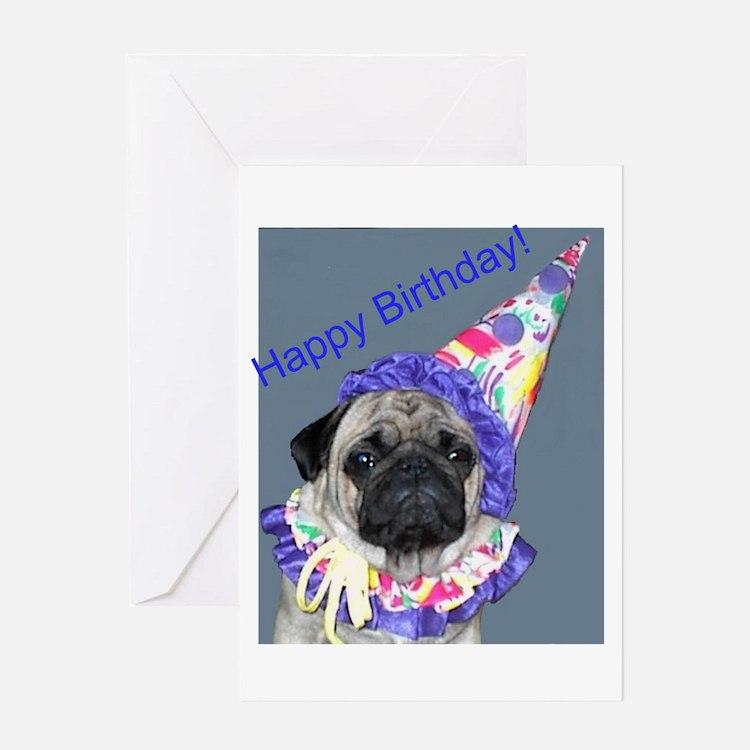 Pug Greeting Cards – Pug Birthday Cards