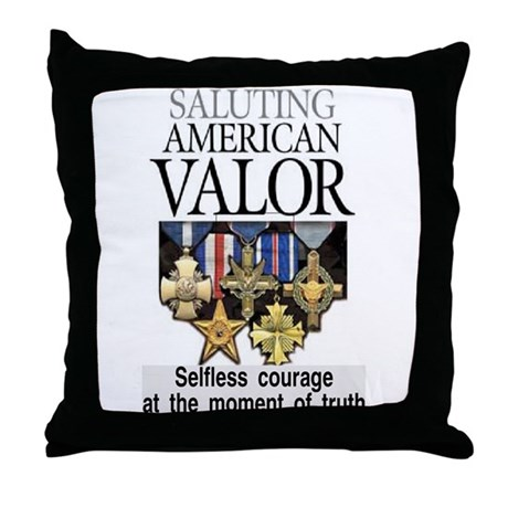 AMERICAN VALOR Throw Pillow