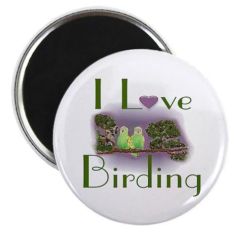 I Love Birding Magnet