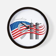 Remembering 911 Wall Clock