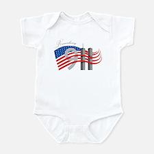 Remembering 911 Infant Bodysuit