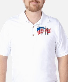 Remembering 911 Golf Shirt
