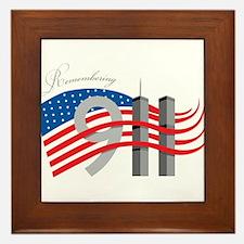 Remembering 911 Framed Tile