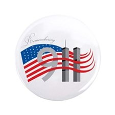 "Remembering 911 3.5"" Button"