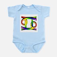 GLBT Cancer & Gemini Infant Bodysuit