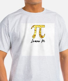 Lemon Pi Ash Grey T-Shirt