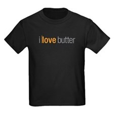 Unique I love butter T