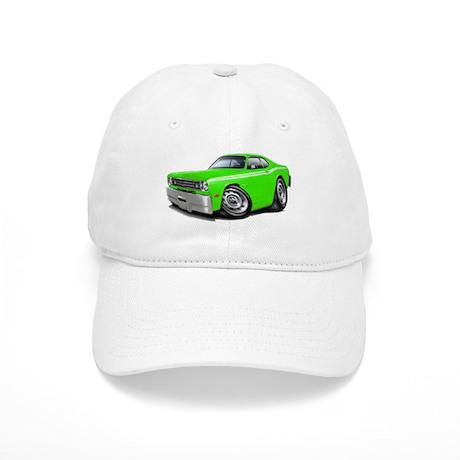 1970-74 Duster Lime-White Car Cap