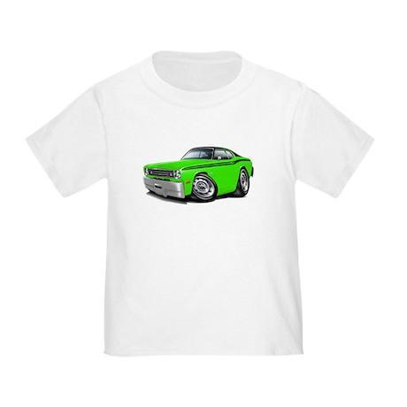 Duster Lime-Black Car Toddler T-Shirt