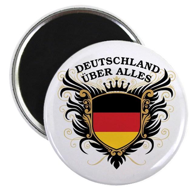 Deutschland Uber Alles Magnet by pridegiftshop