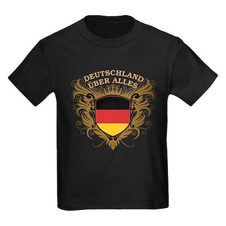 Deutschland Uber Alles Kids Dark T-Shirt