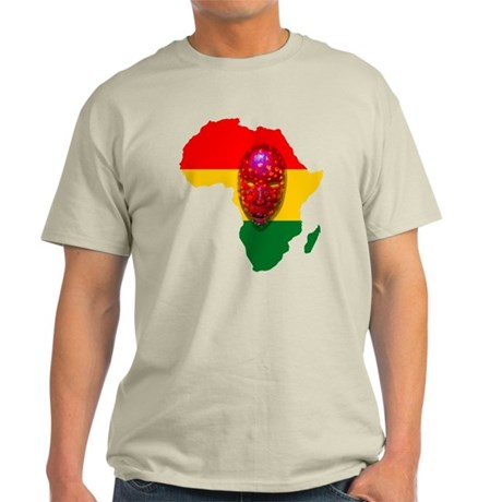 Africa with Mask Light T-Shirt
